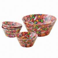Quality Salad Bowls, Made of 100% Melamine, Suitable for Promotional and Gifts, FDA Certified wholesale