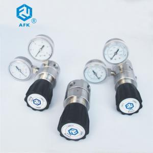 Quality AFK Adjustable Oxygen Nitrogen Argon Regulator 6000 Psi 1/4NPT Female Body Thread wholesale