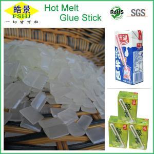Quality Eva Based Hot Melt Glue Pellets White Granule For Bonding Beverage Straw wholesale