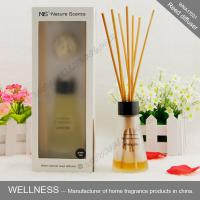 Quality Luxury reed diffuser with clear conical bottle, rigid high-end gift box wholesale