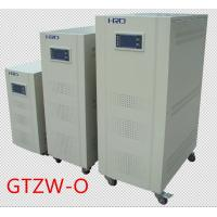 Quality Single Phase Automatic Voltage Stabilizer Adjusted Digital Control With Gray Color wholesale
