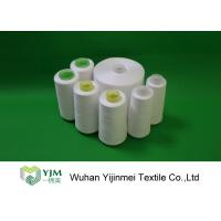 Quality 100% Polyester Spun Yarn With Paper cone / 24000KG Polyester Sewing Thread For A Container wholesale