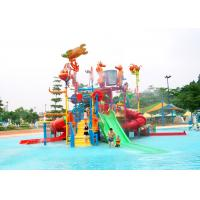 Quality Jungle Gym Outdoor Water Playground Equipment 15kW Power For Amusement Park wholesale