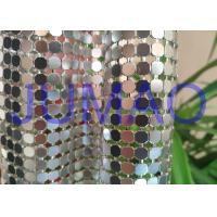 China Decorative Bling Aluminum Metal Sequin Fabric Light Silver With 4 Branches on sale
