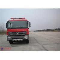 Quality Mercedes Commercial Fire Trucks Max Speed 100KM/H With Pressure Combustion Engine wholesale