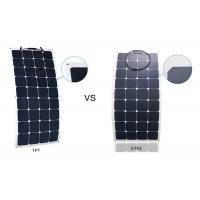Quality Weatherproof ETFE Portable RV Flexible Solar Panels With 30 Degrees Curvature wholesale