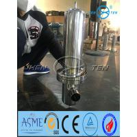 Quality sanitary gas filter stainless steel 304 or 316L steam filter for 226 or 222 connection code 7 code 5 wholesale