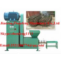 Quality rice stalk briquette making machine / sawdust briquette making machine    (skype:zhoufeng1113) wholesale