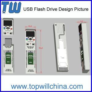 Promotion Custom PVC USB Flash Drive Unique Company Product