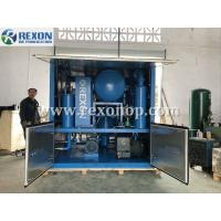 Quality Weather Proof Type Transformer Oil Purifier Double Stage High Vacuum Insulating Oil Purifier Machine 9000Liters/Hour wholesale