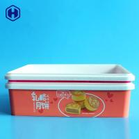 Buy cheap Square Stackable IML Box Plastic PP Container Soft Moon Cake Packaging from wholesalers