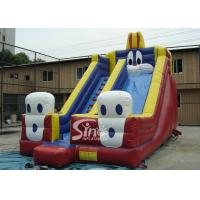 China 6.0 Mts High Big Rabbit Inflatable Slide For Kids N Adults Outdoor Fun on sale