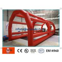 Quality Funny Adult Inflatable Batting Cages Inflatable Sports Game For Outdoor / Indoor Baseballs wholesale