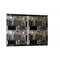 Quality Industrial 4 Layers Rigid PCB Board With Black Soldermask And White Silkscreen wholesale