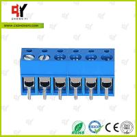 Buy cheap HQ300-5.0 PCB Terminal Block 5.0 Wire Range 22- 14 AWG , Connector Terminal Block from wholesalers