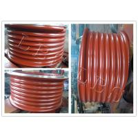 Quality Red Lebus Grooved Drum Without Flanges / Cable Winch Drum For Lifting wholesale