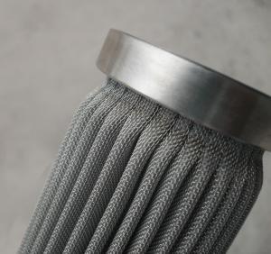 Quality Unisun Stainless Steel Woven Mesh Filter Media Corrosive Liquids Filter Cartridge wholesale