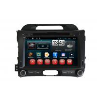 China Kia Sportage R Car DVD Player Android Multimedia Navigation Dual Zone BT TV iPod 3G WIFI on sale
