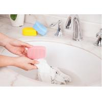 Buy cheap silicone hand type Candy color housework clean mini laundry rub product