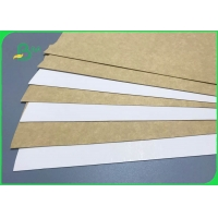 China 300gsm 365gsm FDA Clay Coated Kraft Back For Food Wrapping Box on sale