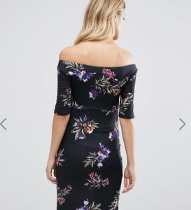 China Stylish Maxi Maternity Wrap Bardot Dress , Off The Shoulder Maternity Dress on sale