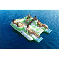 Quality New Floating Island Giant 6 Person Inflatable Lake Raft Pool Float Ocean Huge wholesale
