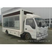 China ISUZU Mobile LED Billboard Truck With Scrolling Light Box For Sales Promotion AD on sale