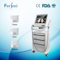 Quality 3 handles factory price Ultrasound therapy for skin tightening RF face lift non surgical machines wholesale