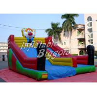 Quality Backyard Clown Jumping Kids Inflatable Dry Slides Inflatable Water Slide Rental wholesale