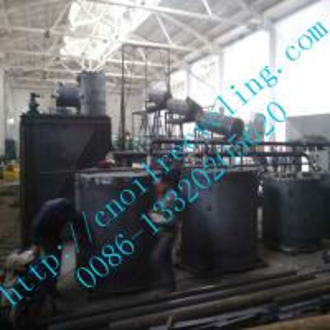 black motor lube oil processing machine,oil regeneration plant