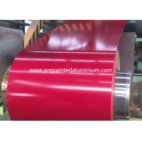 China 26 Gauge Color Coated Aluminum Pre-painted Aluminum Alloy Coil Used For Roofing And Wall on sale