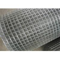 Quality 3 / 4 Inch Galvanized Wire Mesh Rolls / 50cm Wide Wire Mesh Panels For Concrete wholesale