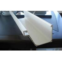 Buy cheap Rectangular PVC Commercial Rain Gutters And Downspouts For Building Exterior product