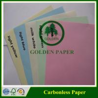Buy cheap Premium quality 3 ply NCR paper/carbonless paper with sheet and roll from wholesalers
