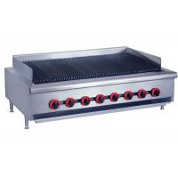 China Counter Top Gas Char Broiler Durable Barbeque Gas Griller With Oil Collector on sale