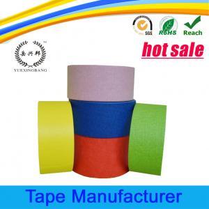 Quality Automotive paint crepe paper colored masking tape wholesale