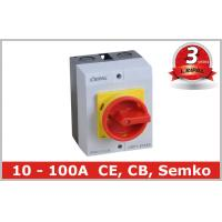 Quality IP65 32A Three Pole Isolator Switch / Industrial Rotary On Off Switch wholesale