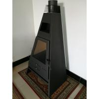 Quality Automatic Feeding Non Electric Wood Pellet Stove Remote Control Smokeless wholesale