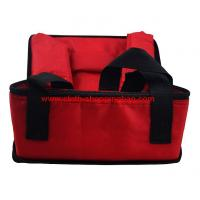 Quality Foldable red travel cooler bag for keeping drinks 600D oxford wholesale
