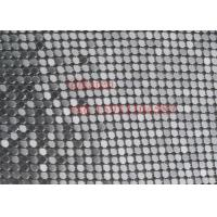 Quality 4mm Sequin Metal Mesh Fabric Cloth for Dress and shoes wholesale