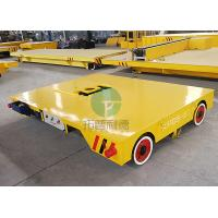 China Workshop Bay To Bay Material Transport Mold Moving Electric Motorized Transfer Car Truck on sale