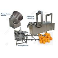 China Coated Peanut Frying Machine Line|Peanut Coating Machine Manufacturer on sale