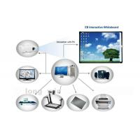 Quality Finger Touch Interactive Electronic Whiteboard , Anti-glare and High Resolution wholesale