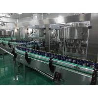 Quality Low Noise Carbonated Soft Drink Production Line Stainless Steel 5000 Cans Per Hour wholesale