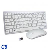 China Full Size Wireless Keyboard And Mouse Combo 2.4G Stable Connection Adjustable DPI on sale