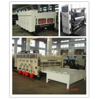 Manual Feeding Carton Making Machine / Paper Carton Printing Machine Witn Slotting Function