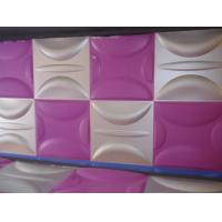 Cheap Anti-Vibration Wall Background Modern 3D Wall Panels for Living Room / Bedroom for sale