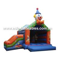 Quality Commercial pvc inflatable combo, bouncy castle, inflatable slide for kids  wholesale