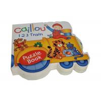 Quality Customized Full Color Educational Printing Shaped Books for Preschool wholesale