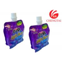 Plastic Eco-Friendly Stand Up Pouch With Spout / Free Standing Bag Packaging